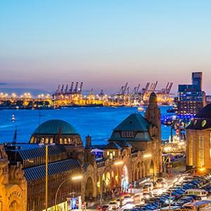 """Hamburg – das """"Tor zu Welt"""", Cuxhaven"""
