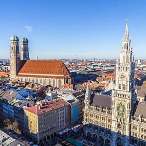 """München – """"Weltstadt mit Herz"""", Chiemsee"""