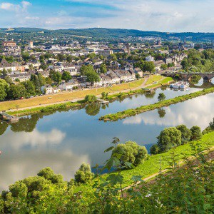 Trier – Straßburg und Luxemburg